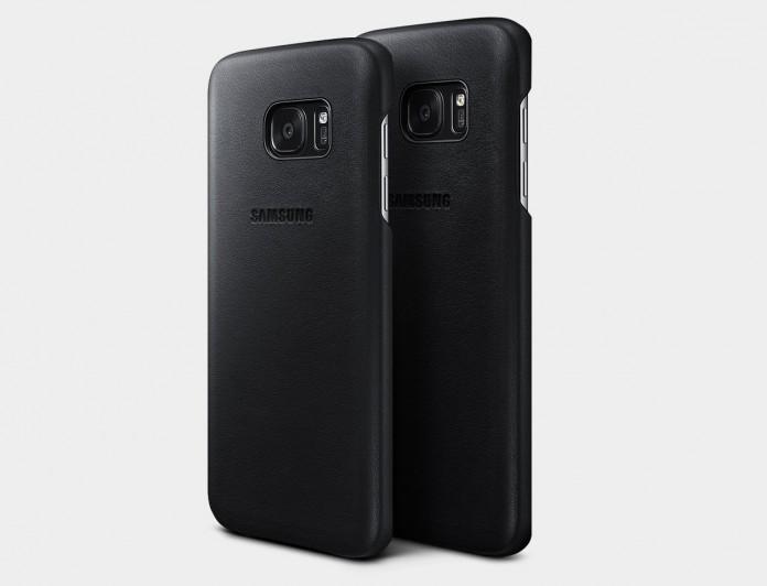 Ốp lưng da Leather Cover Galaxy S8 Plus chính hãng
