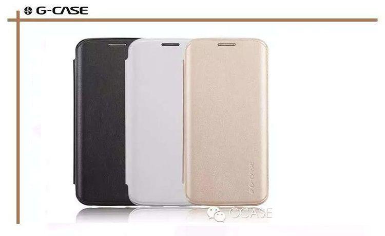 Bao da Samsung Galaxy S6 Edge hiệu Gcase chính hãng