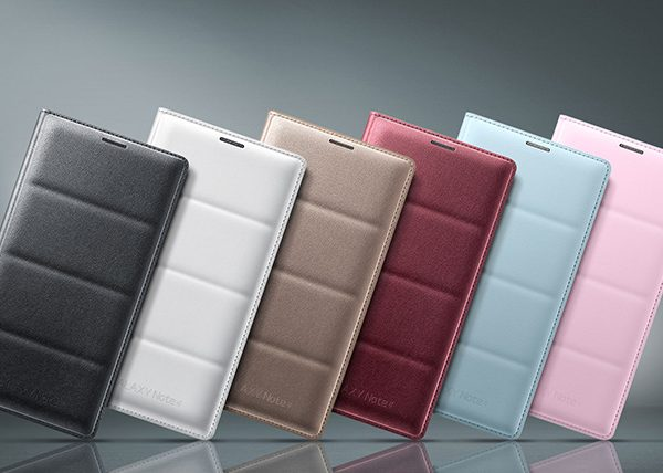 Bao da Led Flip Wallet Note 4 chính hãng - hàng độc