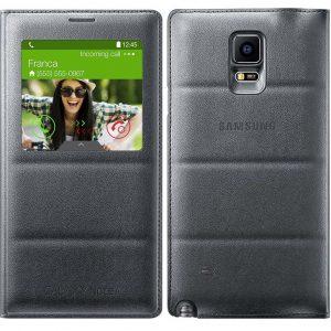 Bao da S View cover sạc không dây cho Galaxy Note 4