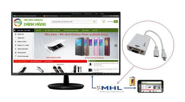 Cáp HDMI Galaxy S6 chính hãng Samsung