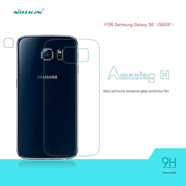 Kính cường lực mặt sau Galaxy S6 hiệu Nillkin 9H