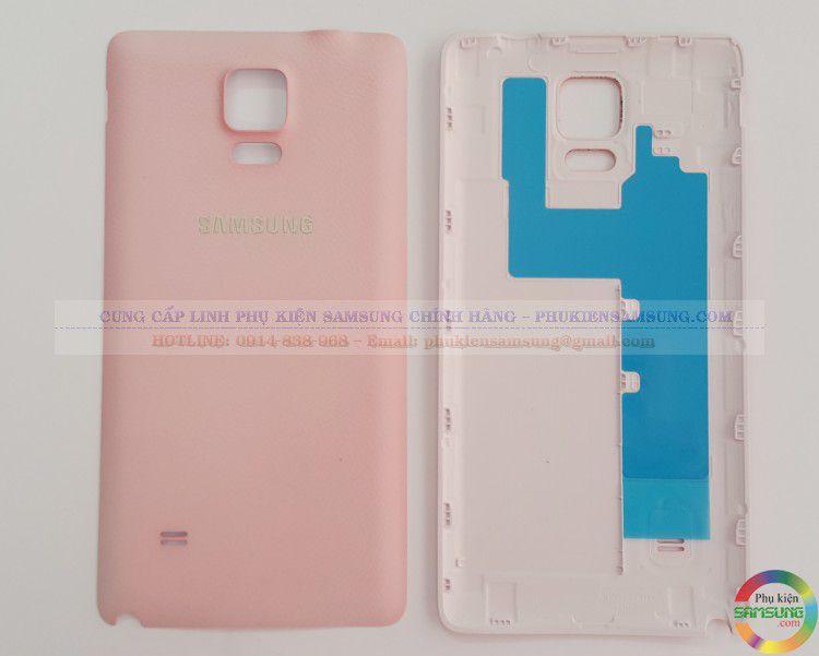 Nắp lưng Samsung Galaxy Note 4 màu Hồng