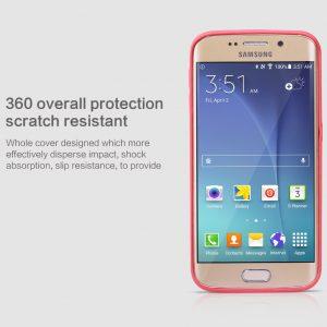 Ốp lưng Galaxy S6 Edge hiệu Nillkin Leather case