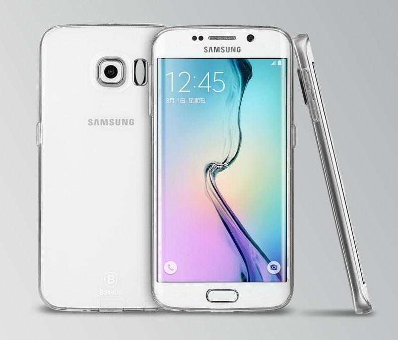 Ốp lưng Silicon Galaxy S6 Edge hiệu Baseus