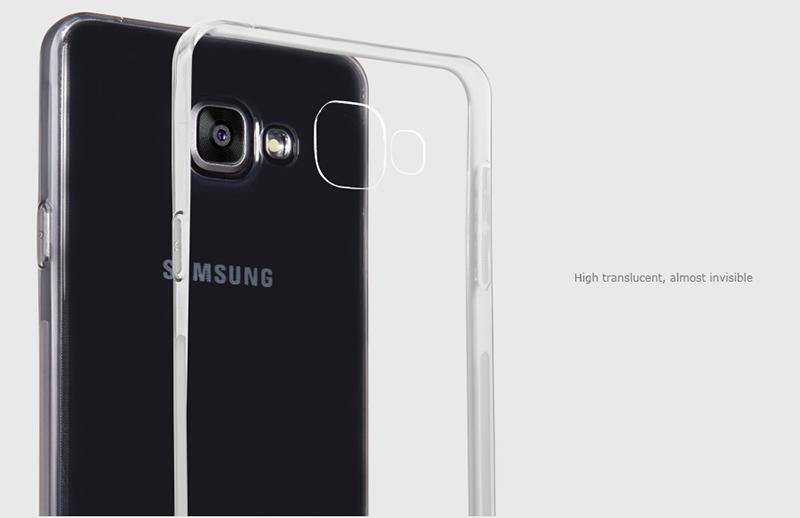 Ốp lưng silicon Samsung Galaxy A5 2016 hiệu Nillkin