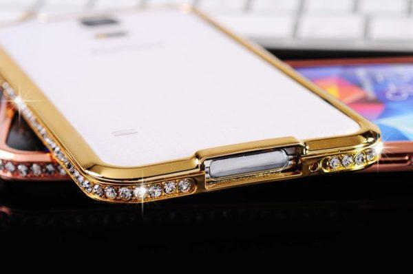 Ốp viền đính đá Galaxy S6 Edge