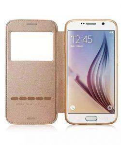 Bao da Sview Samsung Galaxy S6 hiệu Gcase chính hãng