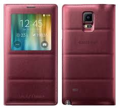 Bao da Galaxy Note 4 N910 Sview màu Padding – Pum Red