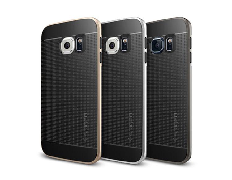 Ốp lưng Samsung Galaxy S6 Edge Spigen Neo Hybrid Carbon chính hãng