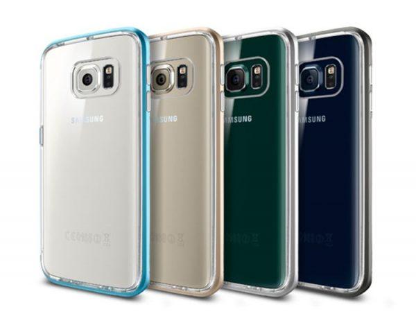 Ốp lưng Samsung Galaxy S6 Edge SGP Neo Hybrid Crystal chính hãng HN