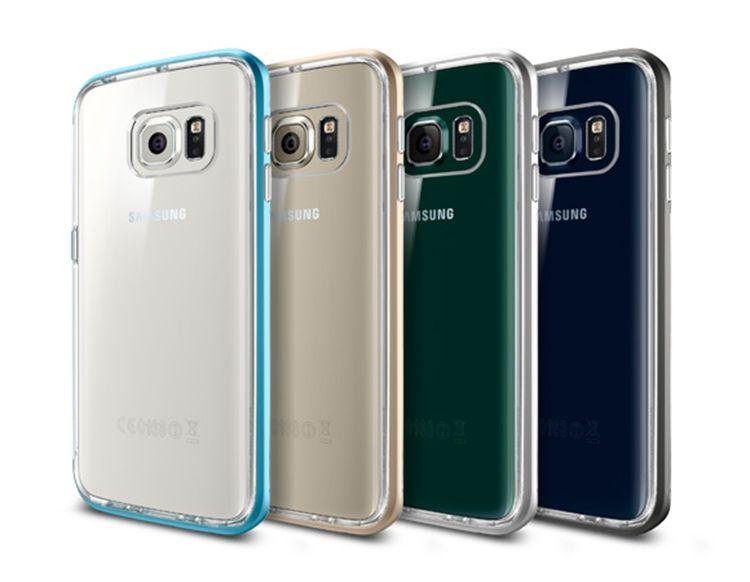 Ốp lưng Samsung Galaxy S6 Edge SGP Neo Hybrid Crystal chính hãng
