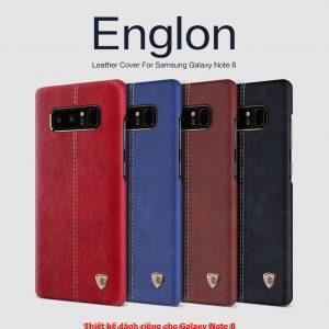 Ốp lưng Galaxy Note 8 Nillkin Leather