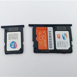 Khay sim và thẻ nhớ Samsung Galaxy J7 Pro