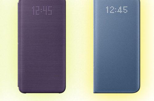 Bao da Led View Galaxy S9 có điểm gì khác biệt so với bao da Led View S8?