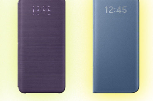 So sánh bao da Led View S9 với S8