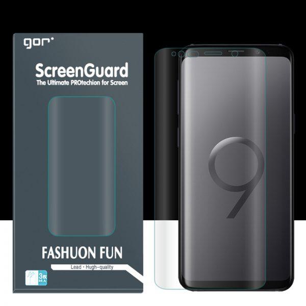 Dán màn hình GOR Galaxy S9 Plus full mặt trước sau