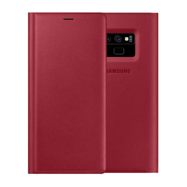 Bao da Leather Wallet Cover Galaxy Note 9 chính hãng Samsung