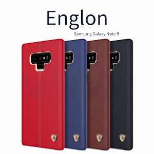 Ốp lưng Englon Leather Cover Galaxy Note 9 hiệu Nillkin