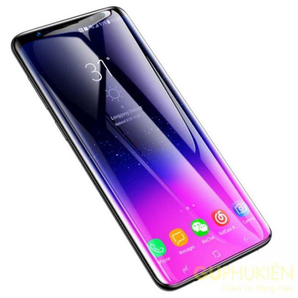 Dán dẻo UV full màn hình Samsung S9 giá rẻ