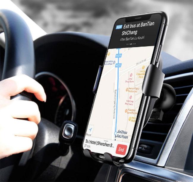 á đỡ điện thoại hỗ trợ sạc nhanh chính hãng Baseus WXZN-B01