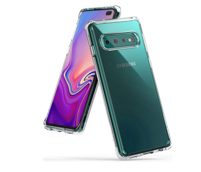Ốp lưng trong suốt Ringke Fusion Galaxy S10