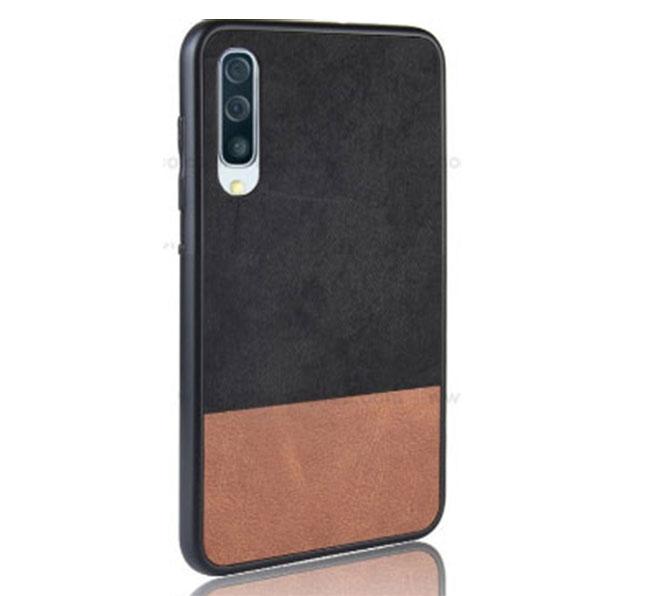 Ốp lưng Galaxy A50 3 lớp dạng vải