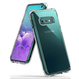 Ốp lưng trong suốt Galaxy S10e hiệu Ringke Fusion