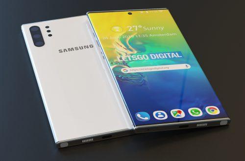 Thiết kế Samsung Galaxy Note 10 Plus được xác nhận qua ảnh của FCC