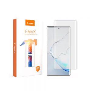 Kính cường lực Note 10 plus Full keo UV hiệu T-Max.