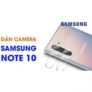 Miếng dán kính cường lực camera Note 10 giá rẻ