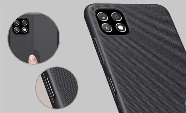 Ốp lưng Samsung A22 dạng sần
